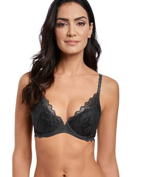 Lace Perfection Push Up Plunge Bra