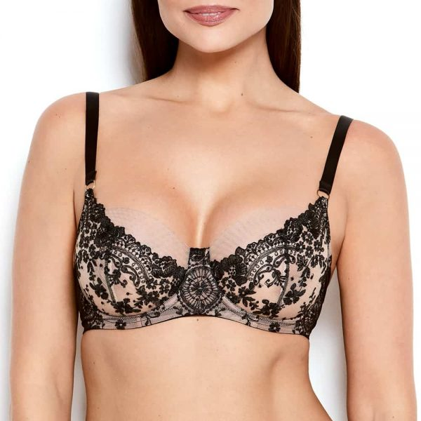 Abrielle Embroidered Bra