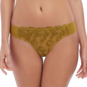 'Decadence' Gold Tanga