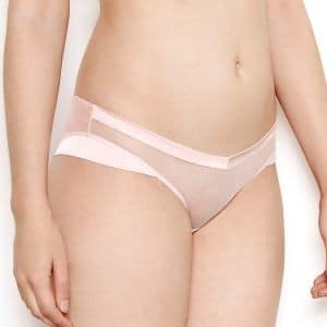 Nina Silk & Tulle Sheer Knickers