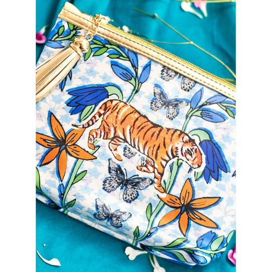 """Vegan Leather Giant Washbag – """"The Mexican Tiger"""""""