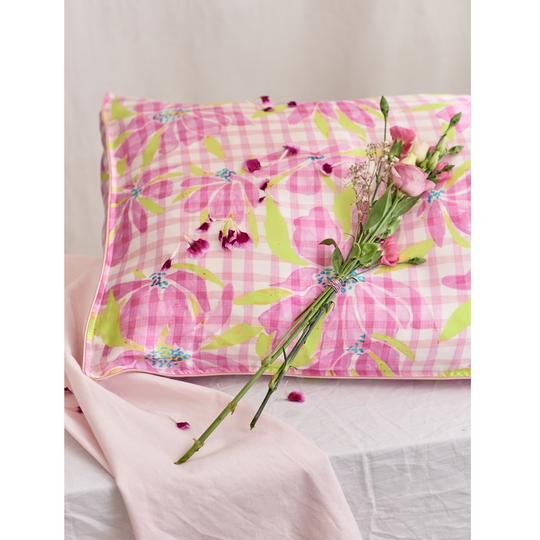 """Silk Pillowcase – """"Water the Lily"""""""